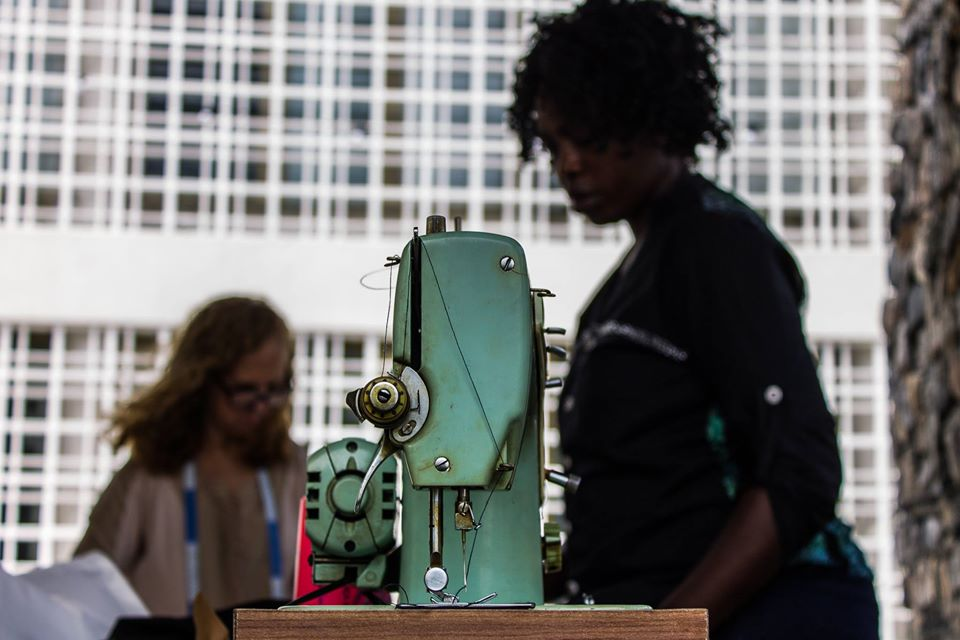 Women of the Global South - sewing machine