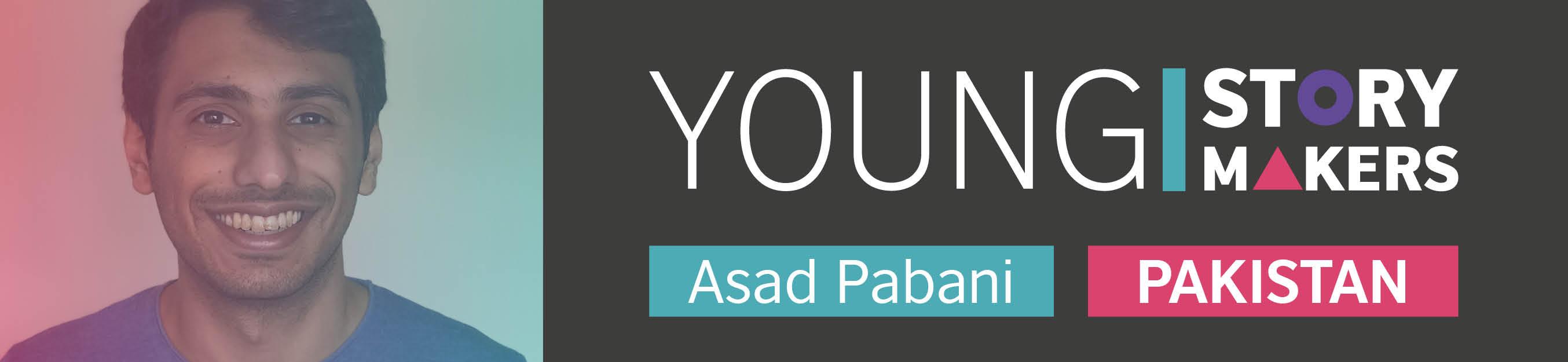 Young Storymaker Asad Pabani