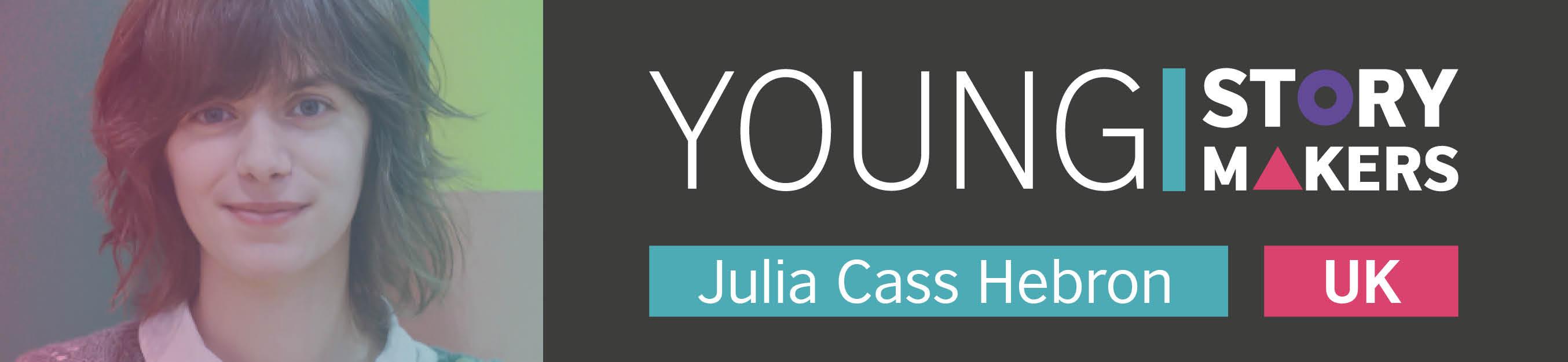 young storymaker Julia Cass Hebron