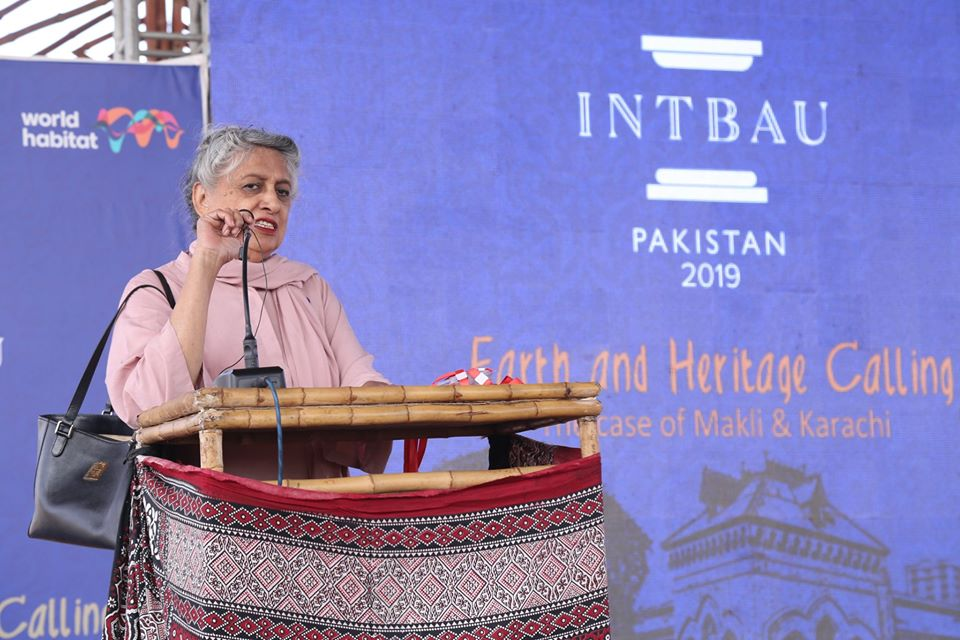 Pakistan architect Yasmin Lari