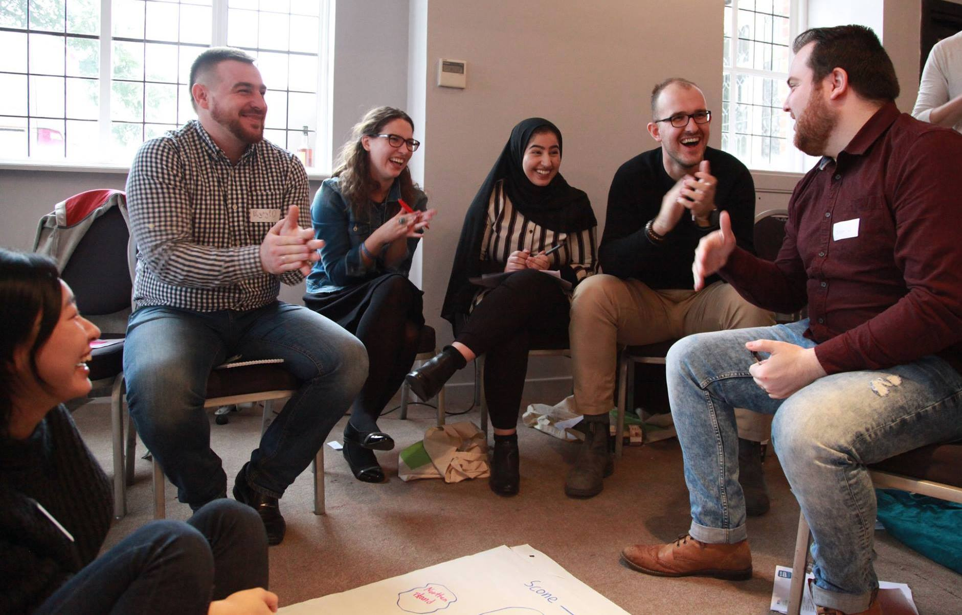 Dozens of social entrepreneurs and community activists from nine different countries joined a week-long British Council International Study Visit in London in December, under its Active Citizens programme