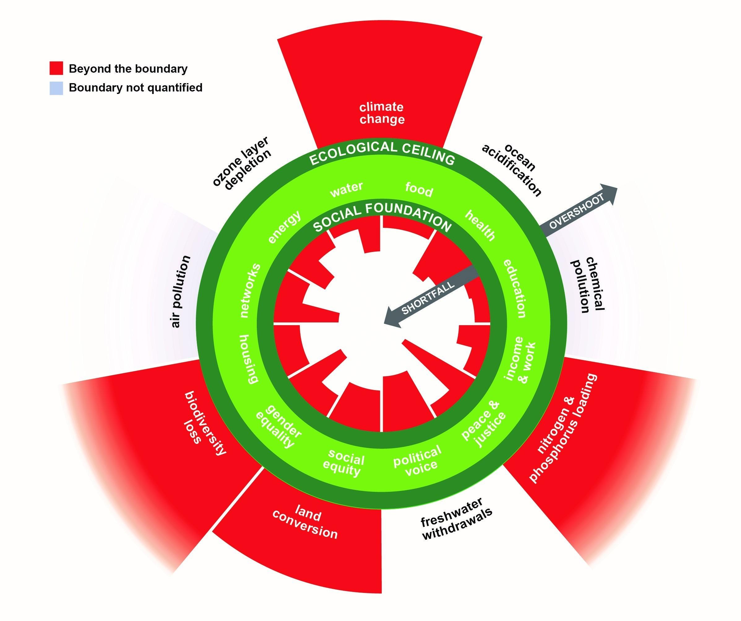 doughnut economics diagram