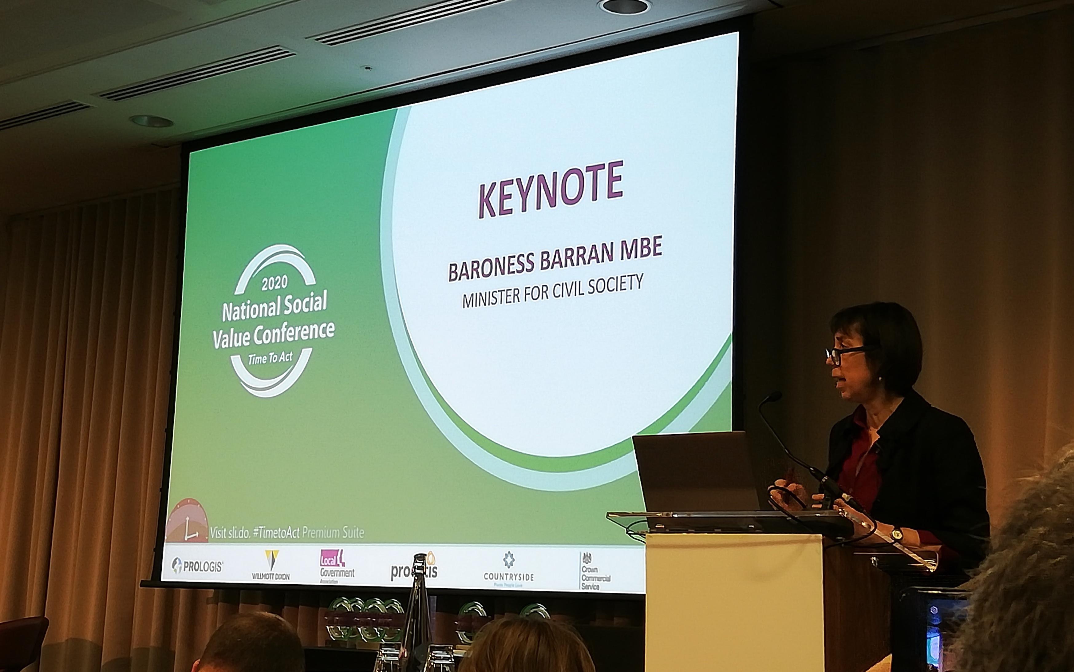 Diana Barran at NSVC 2020