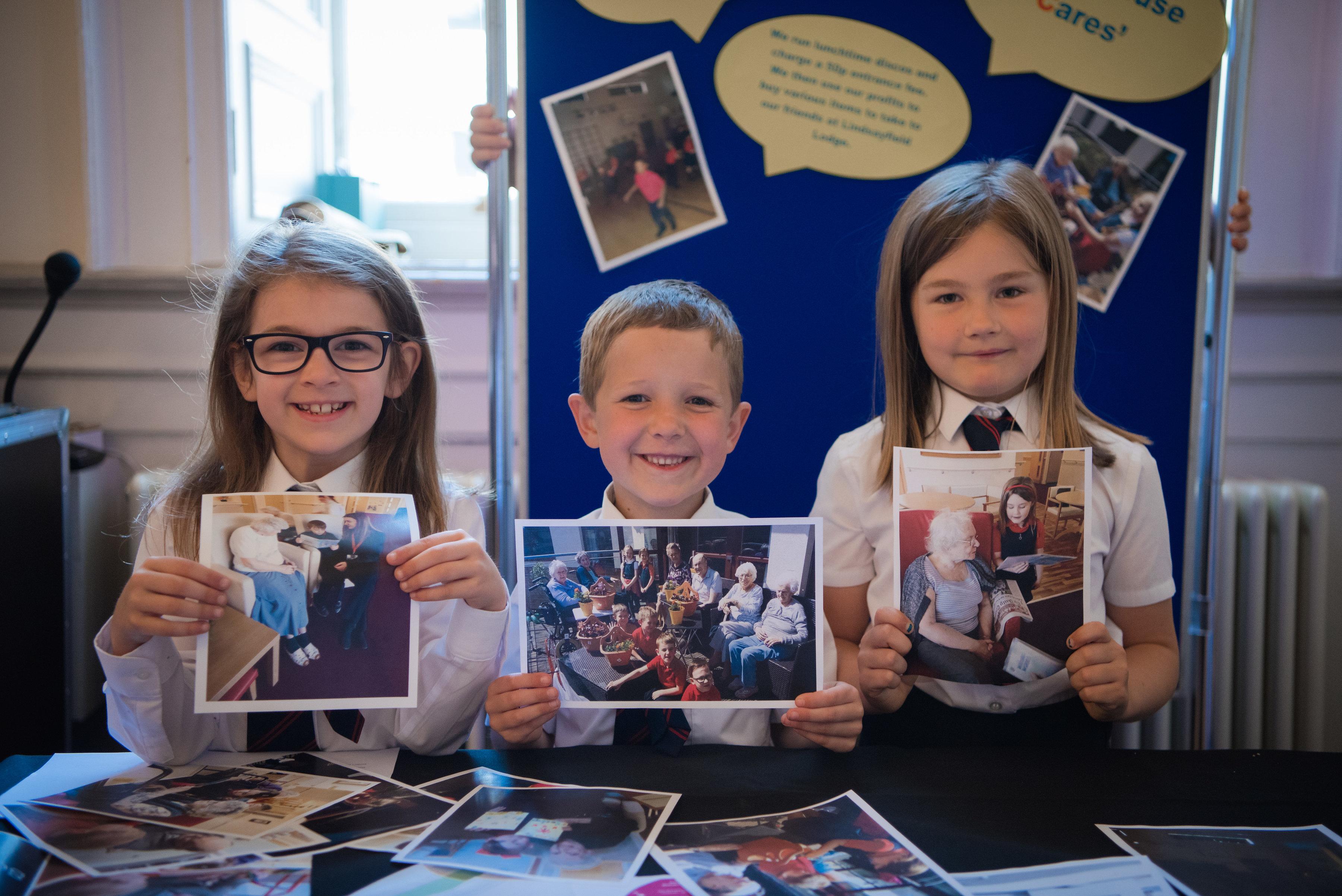 Social enterprise schools Scotland Crosshouse Primary