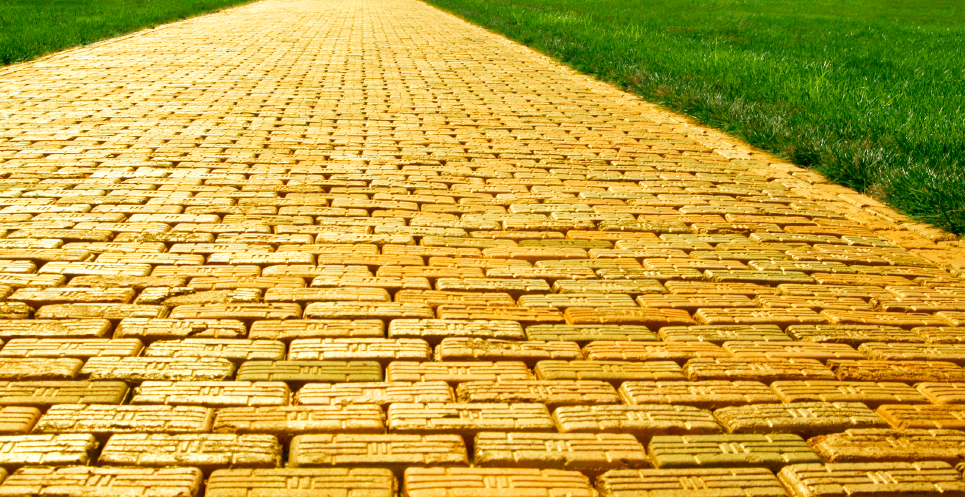 the yelow brick road Goodbye yellow brick road lyrics by elton john: when are you gonna come down / when are you going to land / i should have stayed on the.