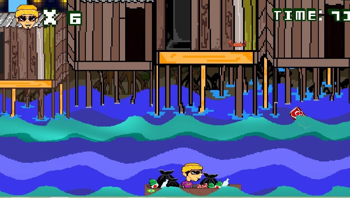 Still from Mangue&beach game Brazil