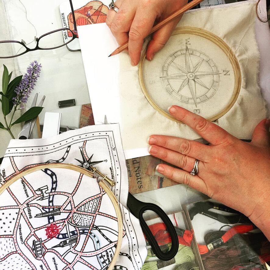 Ekta Kaul Cockpit Arts Craft Textile Artist Embroidery