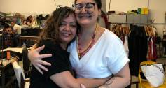 Janete and Emanuela WGS Brazil