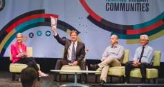 Matt Bannick / Omidyar Network, Sir Ronald Cohen / Social Impact Investment Taskforce established by G8 countries, Penelope Douglas / Mission Hub LLC,  Jonathan Greenblatt / The White House