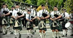 Scottish school band