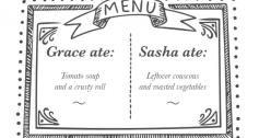 Lunch menu - Grace