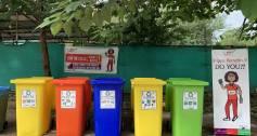 Saaf Suthra Sheher recycling bins Pakistan