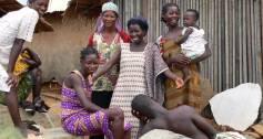 A village in Ghana