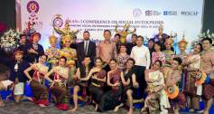 ASEAN+3 conference social enterprise Thailand
