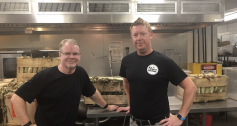 Mike Curtain DC Central Kitchen with Chris Martin Callander Youth Project