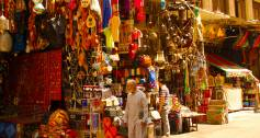Egypt crafts market