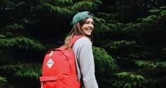 Madlug bag in forest