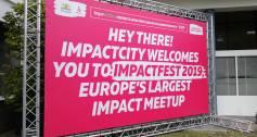 ImpactFest 2019 sign
