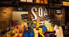 Lush_Oxford Street shop_soap_cosmetics