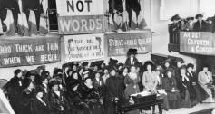 Suffragettes, 1908
