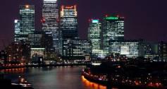 London city night view