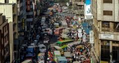 Nairobi street scene social investment