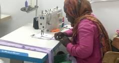 Huweida Abdulrahman working with Nilfurat