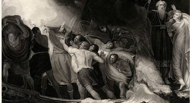 A scene from the Tempest