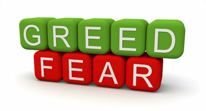 greed fear blocks