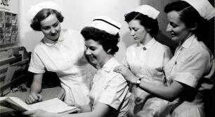 Nurses in the 1950s