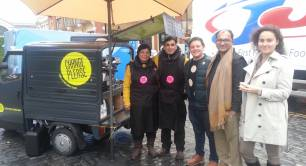 Shalabh visits Change Please in London_social enterprise_India