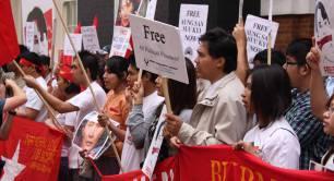 Burma democracy campaign