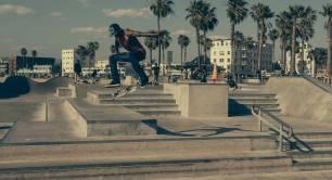 Talented tricks in the skate park