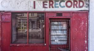 Closed record shop, Portobello road