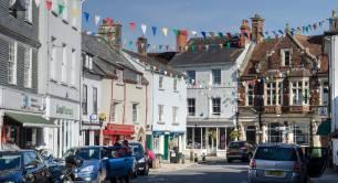 The village of Ashburton in Devon photo credit Alison Day on Flickr