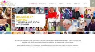 Big Society Capital - homepage