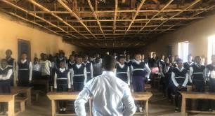 Creative Minds Nigeria classroom