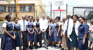 Jamaica, Kingston Technical High School, Social Enterprise in Secondary Schools Programme, British Council, Victoria Mutual Foundation