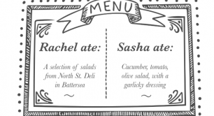 Lunch menu - Rachel Wang