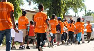 Orange the World campaign