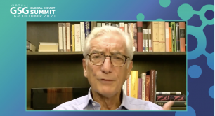 Sir Ronald Cohen at the GSG Summit 2021