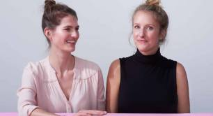 Yoni co-founders Mariah Mansvelt-Beck and Wendelien Hebly