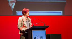 Angela Constance at the SEWF 2017