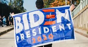 Biden 2020 president flag