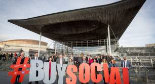 Buy Social campaign Wales
