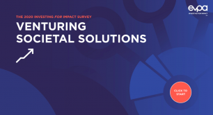 EVPA Venturing Societal Solutions - 2021 report