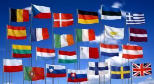 European Union flags_EU_Europe
