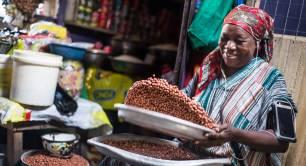 Ghana market by Ekow Bansah