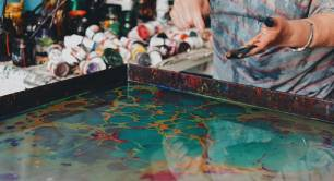 Turkish social enterprise Joon marbling