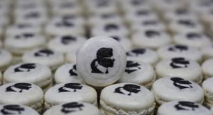 Karl Lagerfield macarons